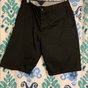 Men's black Volcom chino shorts w32
